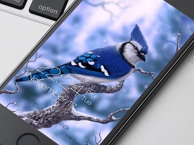 Birds Wallpaper HD Lockscreen screenshot 0