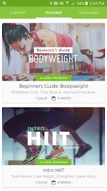 Workout Trainer Screenshot 1