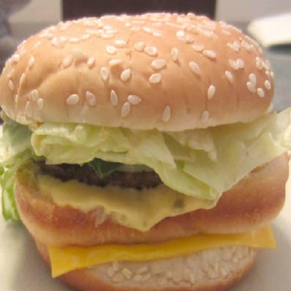 Burger King Big King Burger