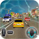 Highway Car Driving : Highway car racing game Icon