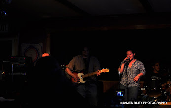 Photo: From right to left, Derek on drums, Kelsey, Steve and the top of Antoine's head. Doin' House of the Rising Sun for Stacy.