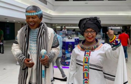 Wax statues of Nelson & Winnie get the thumbs up, but location questioned - TimesLIVE