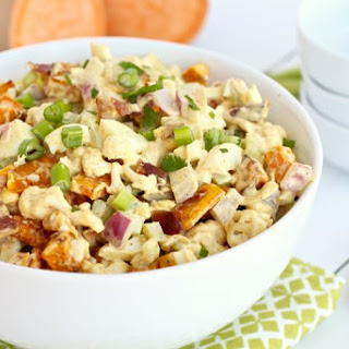 Cauliflower Sweet Potato Salad