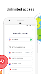 VPN Free - Betternet Hotspot VPN & Private Browser APK screenshot thumbnail 3