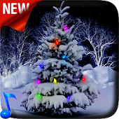 Snowy Christmas Tree 3D