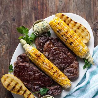 Ribeye Steak with Chimichurri Butter