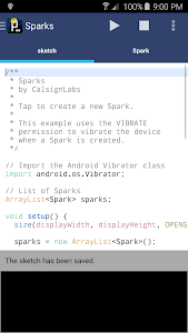 APDE - Android Processing IDE screenshot 0