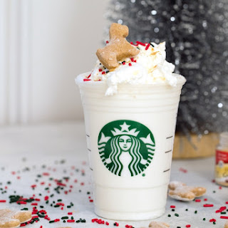 Gingerbread Puppuccinos with Gingerbread Cookies for Dogs.