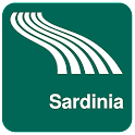 Sardinia Map offline icon
