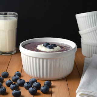 Blueberry Pie Steel Cut Oats