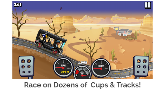 Hill Climb Racing 2 1.42.0 MOD APK (Unlimited Money) 3