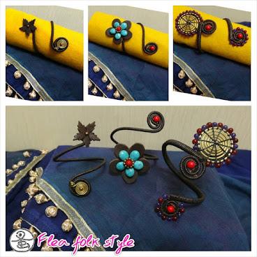 仿皮蠟線手鐲 (Synthetic leather wax thread bracelet)