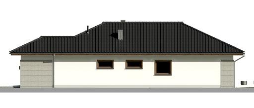 Dom przy Pastelowej 18 - Elewacja prawa