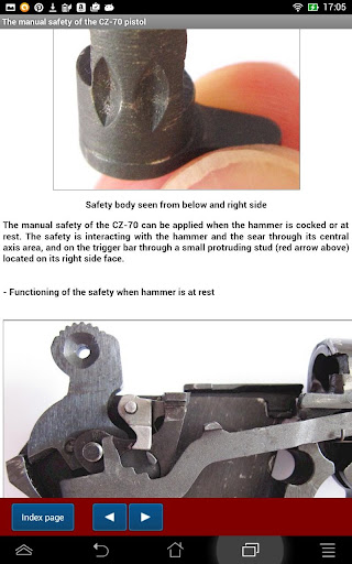 CZ-70 CZ-50 pistol explained
