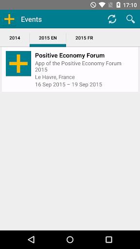 Positive Economy Forum 2015