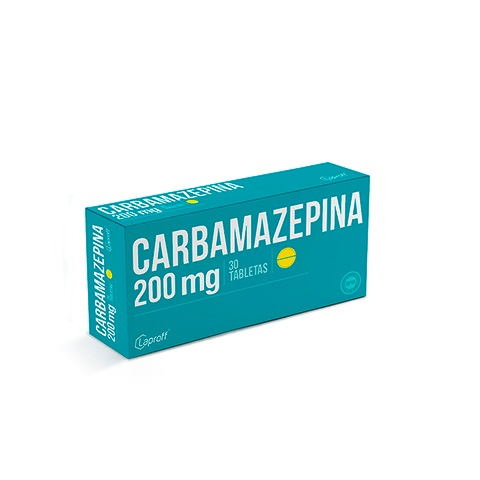Carbamazepina Laproff 200 mg Blister x 10 Tabletas