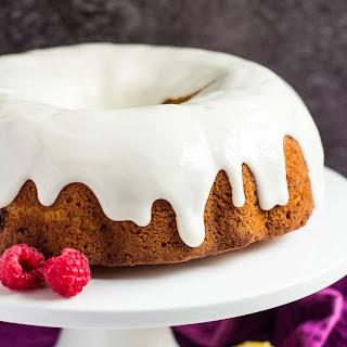 Lemon Raspberry Bundt Cake.