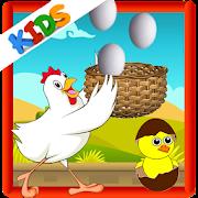 chicken egg catcher - catch the egg