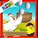 chicken egg catcher - catch the egg Icon