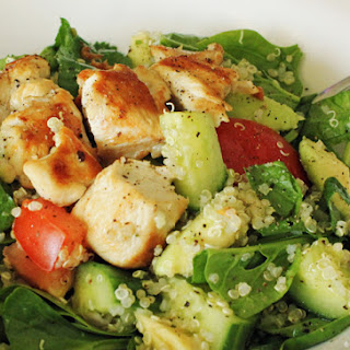 Chicken Quinoa Salad.