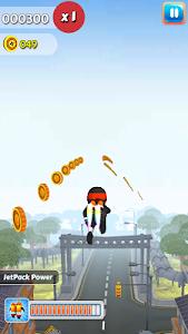 Chhota Ninja City  Run screenshot 2