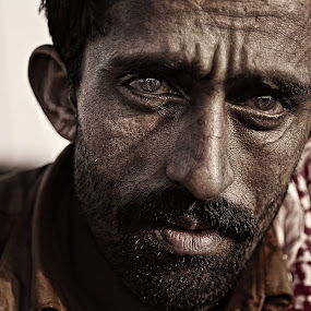 Lonely by Vic Pacursa - People Portraits of Men