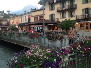 Photo: We start our adventure in Chamonix, France ...