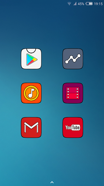 MIUI CARBON - HD ICON PACK- screenshot