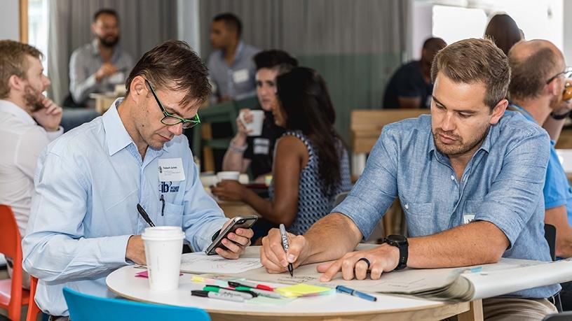 Absa's Innovation Lab hosted the 'solveathon' workshops in Cape Town yesterday.