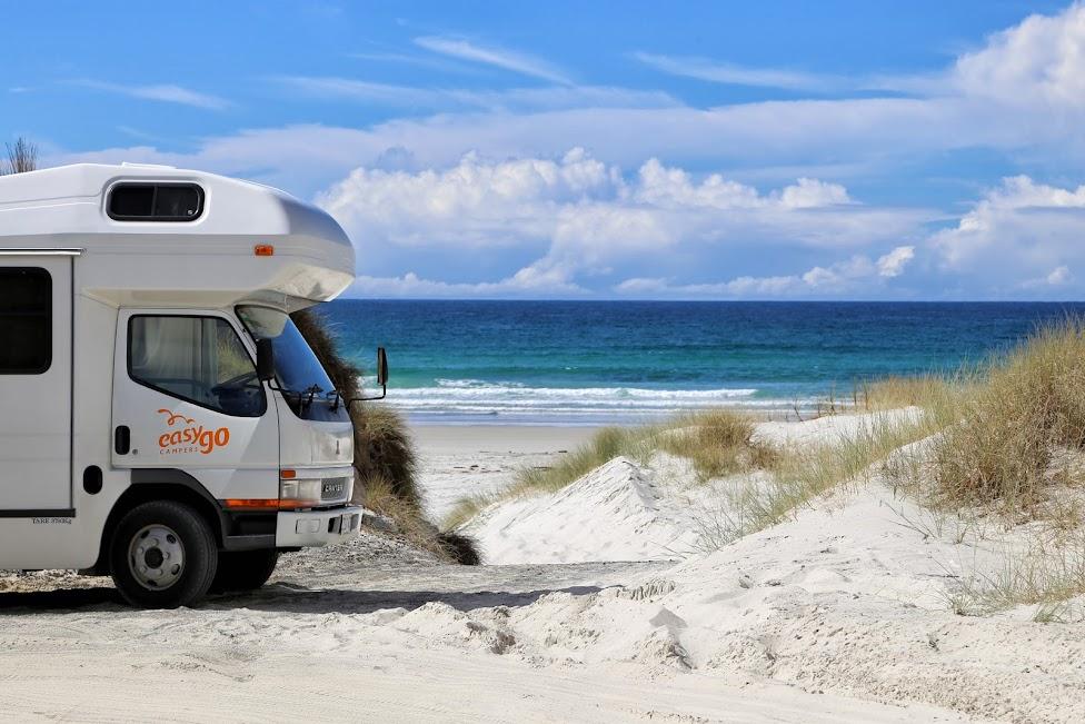 Nowa Zelandia - plaża