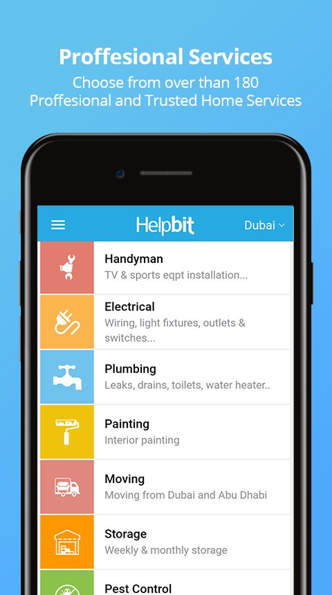 Helpbit - Services on demand- screenshot