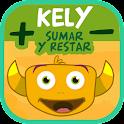 Kely: sumar y restar icon
