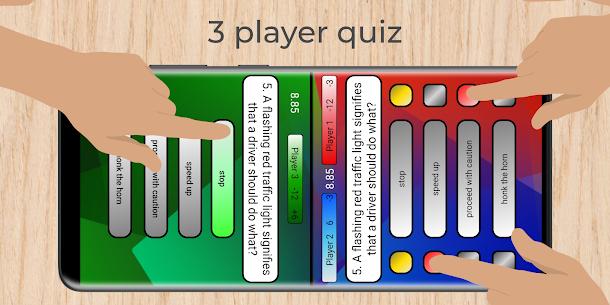 Multiplayer – 3 & 4 player quiz 1