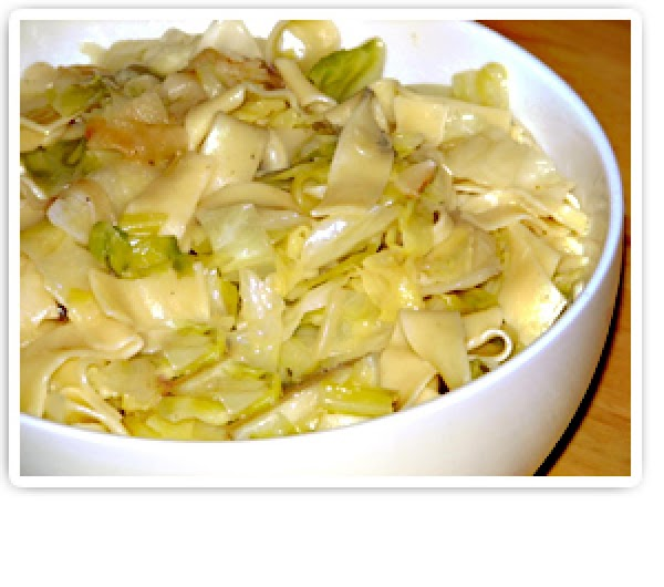 Krautfleckerl- Hungarian Cabbage And Noodles Recipe