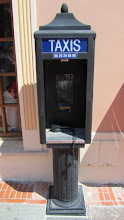 Photo: Teléfono para pedir un taxi