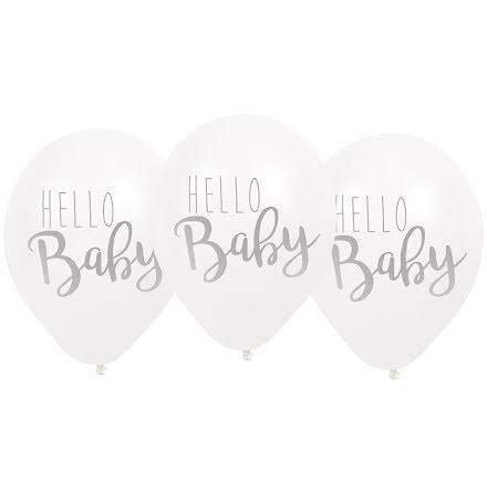 JaBaDaBaDo Ballonger - Hello baby, vit