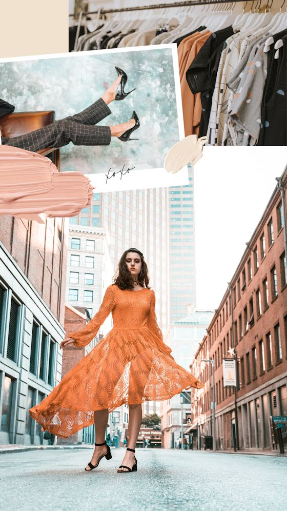 Fashion Street - Facebook Story Template
