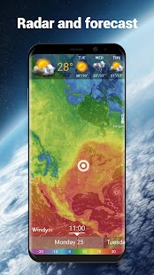 Local Weather Forecast & Real-time Radar Screenshot