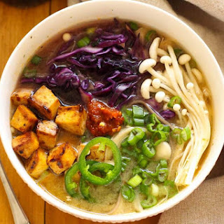 Easy Miso Soba Noodle Bowls.