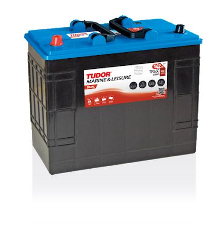 Fritidsbatteri Tudor 12V/142Ah---