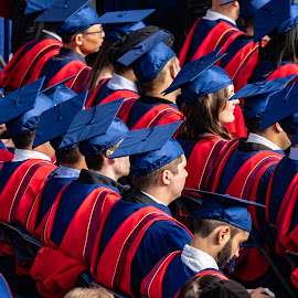 Graduation by Steve Kazemir - People Group/Corporate ( undergrad, cap, graduation, university, ceremony, gown )