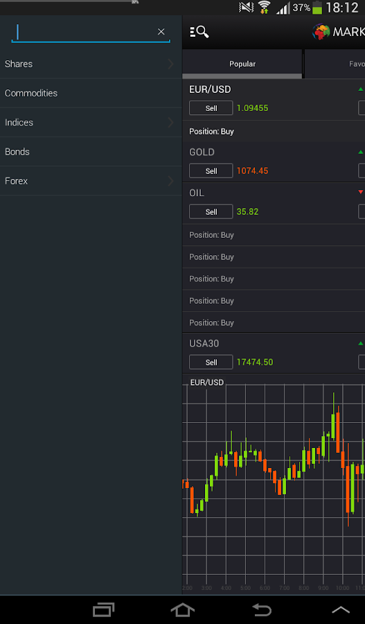 markets com online cfd trading