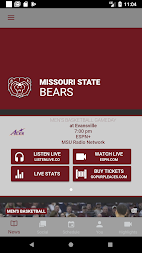 Missouri State Bears Athletics APK screenshot thumbnail 1