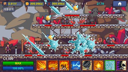 Grandpa RPG - Grow Pixel Wizard 1.0.12 screenshots 5