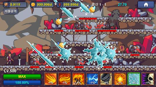 Grandpa RPG – Grow Pixel Wizard MOD (Unlimited Money) 4