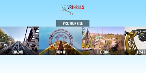 VR Thrills: Roller Coaster 360 (Google Cardboard) APK screenshot thumbnail 1