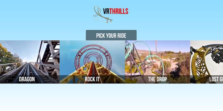 VR Thrills: Roller Coaster 360 apk screenshot