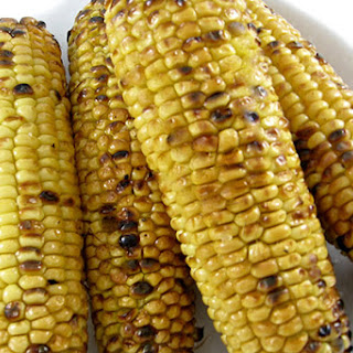 Skinny Grilled Corn on the Cob
