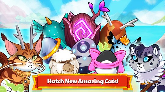 Castle Cats MOD APK Idle Hero RPG 2.14.4 (Unlimited Money) 2