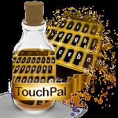 Shiny gold Keypad Theme